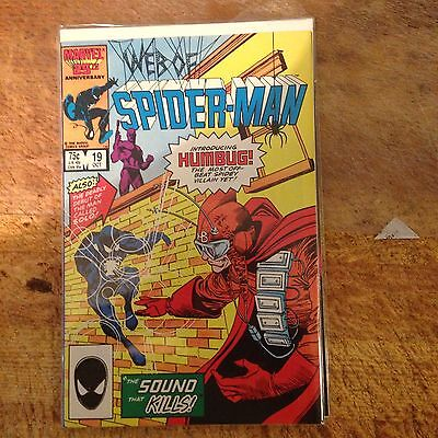 Web Of Spider-man 19 1st Humbug And Solo Nm