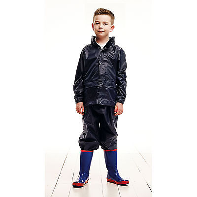 Regatta Classics Kids Rain Suit Childrens Waterproof Snowsuits Jackets Coats
