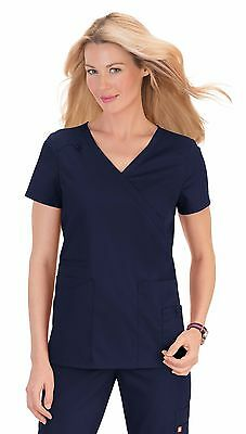 Women Medical Nurses Scrub Top Tunic Uniform -Del Mar- Various Colours & Sizes