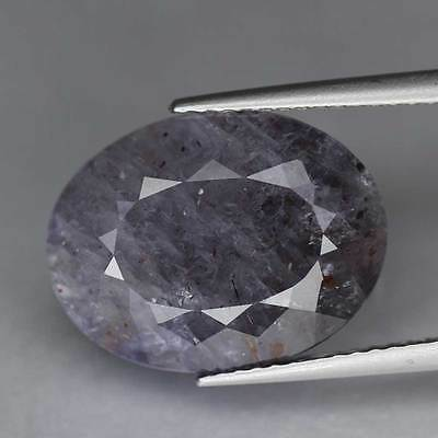 7.98Cts-Oval Cut-Natural-Violet To Blood Spot-Tanzania-Iolite-GS223