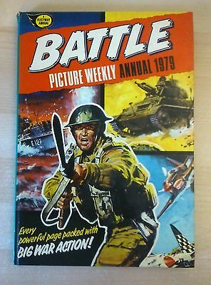 BATTLE PICTURE WEEKLY Annual 1979. Hardback Illustrated Book.