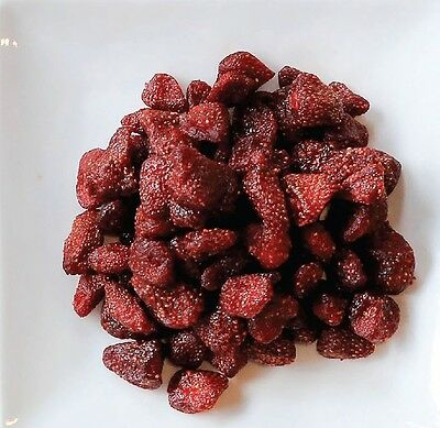 Strawberry Dried Fruits 200 g. Great snack From Thailand