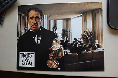 Theatre Of Blood - Vincent Price - Lobby Card #3