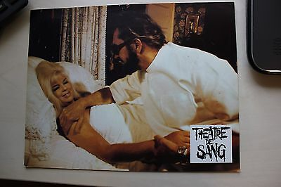 Theatre Of Blood - Vincent Price & Diana Dors - Lobby Card