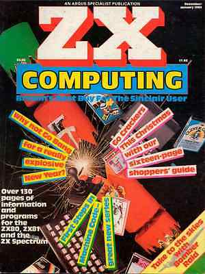 ZX COMPUTING magazine ALL 38 ISSUES on DVD  Sinclair SPECTRUM ZX80 ZX81 QL 80s