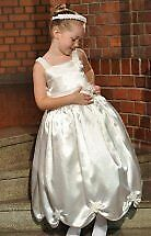new white pageant /party princess dress or  flower girls dresse 2/3   uk seller
