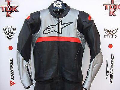 Alpinestars Vector Two Piece Race leathers without hump uk 44 euro 54