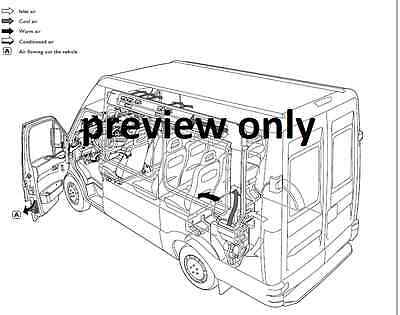 iveco daily 3rd gen 2000-2006 workshop service and repair  manual cd