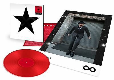 NotforSale 4items NEW LTD JAPAN ONLY 12inch Red Vinyl David Bowie blackstar who