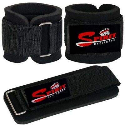 Weight Lifting Gym Training Wrist Support Straps Bandage Bar Wrap Gloves Fitness