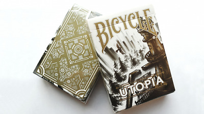 Bicycle Utopia Gold Playing Cards by Card Experiment Kartenspiel Sammlerdeck