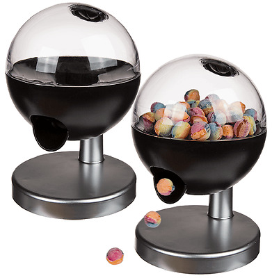 2 x Sweet Candy Peanuts Gumball Dispenser Machine Touch Sensor Childrens Party