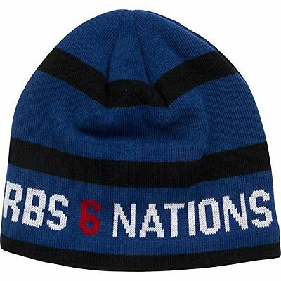 RBS 6 Nations Rugby Heritage Striped Beanie