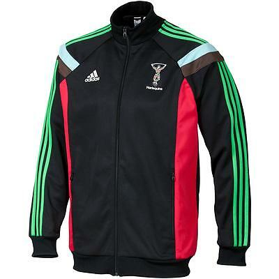 Official Adidas 2015 Harlequins Anthem Jacket - M