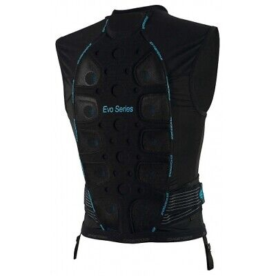 ICETOOLS S-EVO SHIELD RÜCKENPROTEKTOR SKI MEN  BLACK/BLUE Gr. S - XL NEUWARE