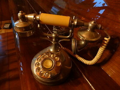 Vintage Telephone - Made in Singapore with Quality Aged Looks - Needs TLC