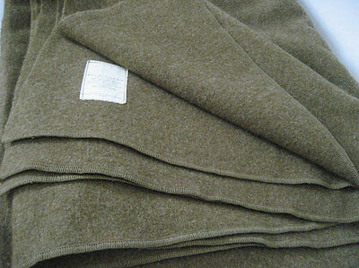 Military Issued Wool Blanket