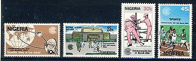 "1983 Nigeria MNH cplt. set of 4 stamps"" Commonwealth Day"" Sc.426-429"