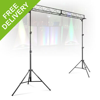 Vonyx 3m Light Truss DJ Lighting Bridge Trussing Gantry Disco Party Club Band