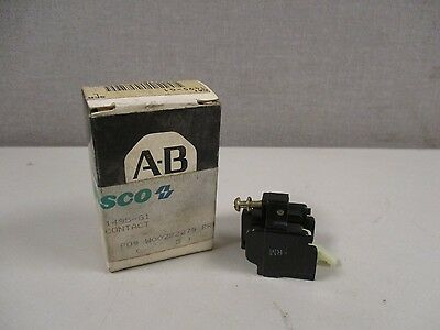 New Allen Bradley 1495-G1 Series L Auxiliary Contact Block