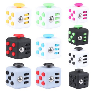 Fidget Cube Anxiety Stress Relief Decompression Toy Adult Kids UK Seller