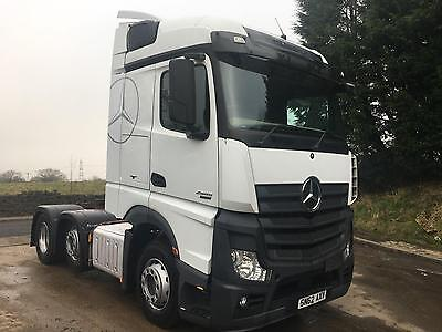 2013 Mercedes-Benz Actros 2545 6x2 stream space