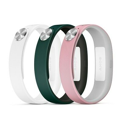 Sony Mobile A1 Wrist Strap Dark Green/Light Pink/White Small