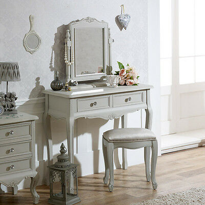 Grey Bedroom Furniture Dressing Table Chest of Drawers Bedside Table Cabinet