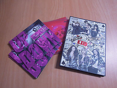 EXID promo autographed old  album  UP&DOWN , HOT PINK , Whoz That Girl