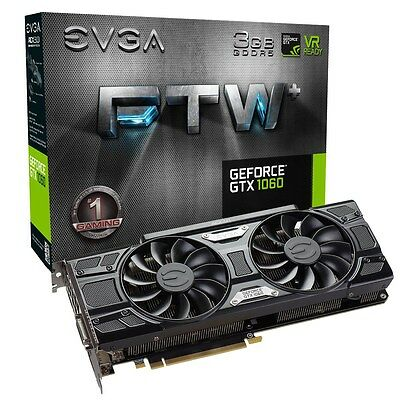 EVGA GeForce GTX 1060 3GB FTW GAMING ACX 3.0 Boost Graphics Card