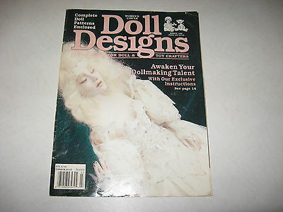 doll making patterns  DOLL DESIGNS womens circle March 1990 patterns