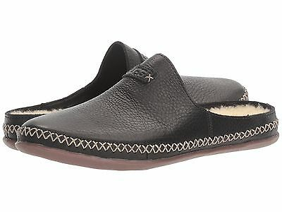 Women's Shoes UGG Tamara Wool Lined Leather Slip Ons 1014872 Black *New*