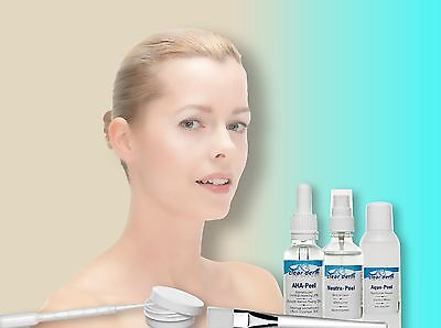 Clear.Derm AHA-Peel Natural Cosmetic Peeling Set