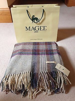 Magee of Donegal Lambswool Throw
