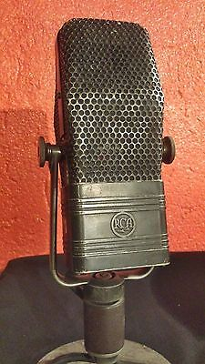 RCA 44-B Ribbon Microphone Vintage - Original in all its parts
