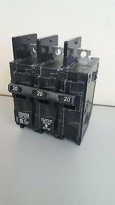 NEW! SIEMENS BQ3B020 20A 240V 3-Pole Type BQ  Circuit Breaker