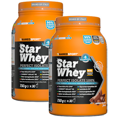 Named Sport Star Whey Proteine Isolate Carbelac Isolac 90 750 gr