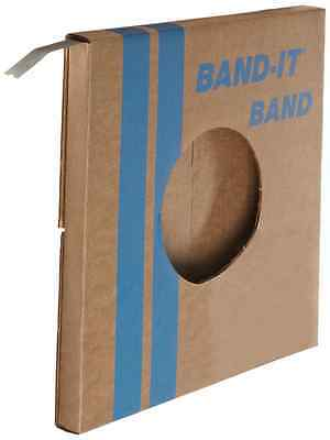 """BAND-IT VALU-STRAP Band C13499, 200/300 Stainless Steel, 1/2"""" wide x 0.015"""" thic"""