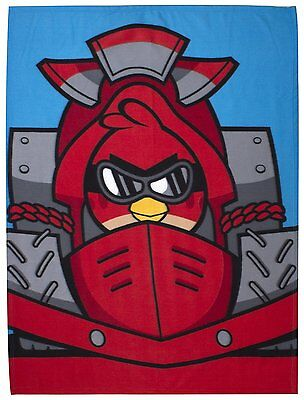 2 X OFFICIAL Angry Birds Go Fast Fleece Blanket 120cm x 150cm FREE SHIPPING