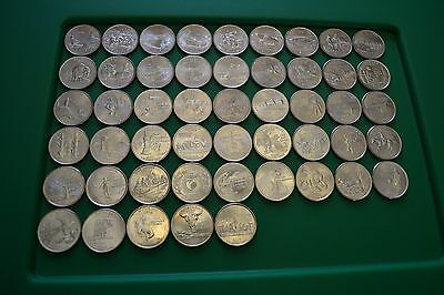 1999-2008 COMPLETE STATE QUARTER P MINT MARK UNCIRCULATED SET-Some Coins Toned