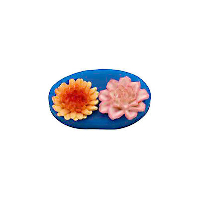 First Impressions Molds Silicone Mould - Flowers - 2 cavity