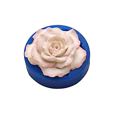 """First Impressions Molds Silicone Mould - Rose - 3½"""""""