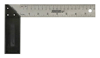Johnson Level & Tool 1910-0800 8-Inch Try & Mitre Square