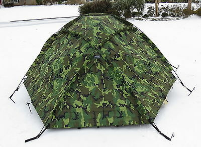 EUREKA USMC ECWT 4 Man Extreme Cold Weather Tent Woodland Snow Camo Hunting & EUREKA USMC ECWT 4 Man Extreme Cold Weather Tent Woodland Snow ...