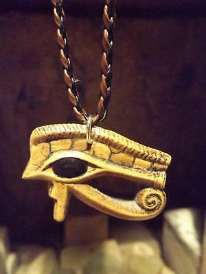 Egyptian Eye of Horus necklace - Magical amulet of protection. Ancient Egypt art