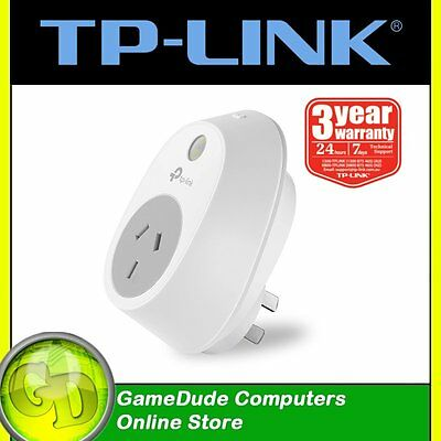 TP-LINK HS100 Smart Wi-Fi Plug SWITCH Turn electronics on/off remotely [F33]