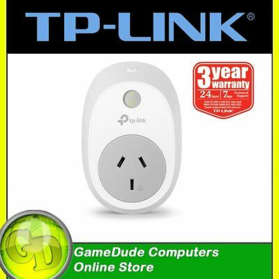 TP-LINK HS100 Smart WiFi Plug SWITCH Turn electronics on/off with IOS/Android[3]