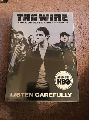 The Wire - The Complete First Season (DVD, 2004, 5-Disc Set)