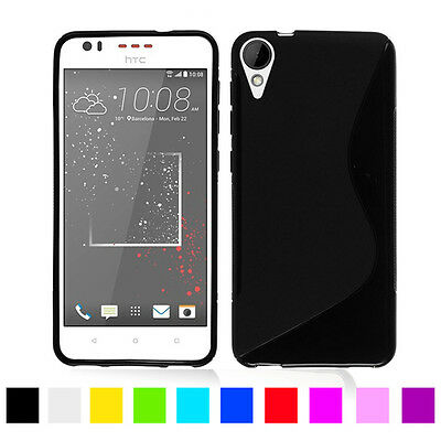 For HTC Desire 10 Lifestyle / Desire 825 New Gel Silicone Phone Case Cover