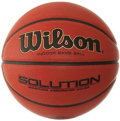 Wilson Solution Game Basketball Size 5 Brown New